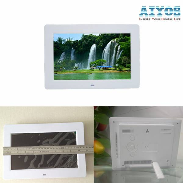 Small Advertising Video Player High Quality Lcd 10 inch Digital Photo Frame