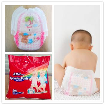 A grade Super Absorbency Disposable Baby Diapers With All Sizes