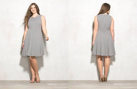 Summer wear tank plus size dress for women