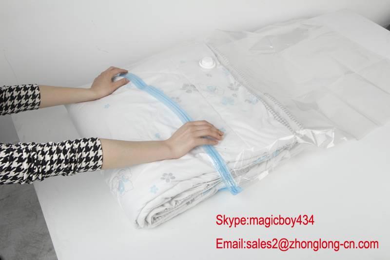 vacuum compressed storage bag