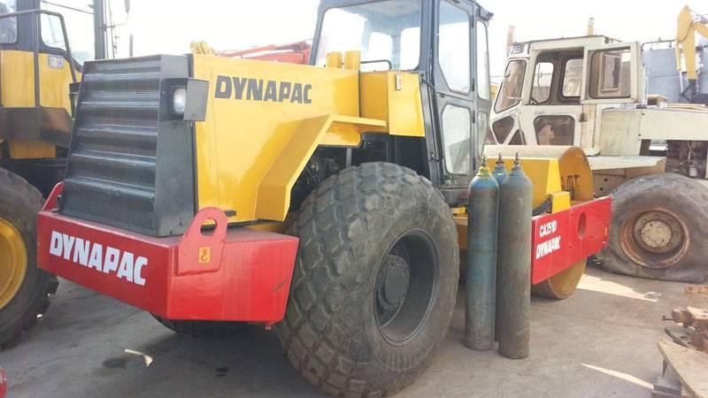 used road roller dynapac ca251
