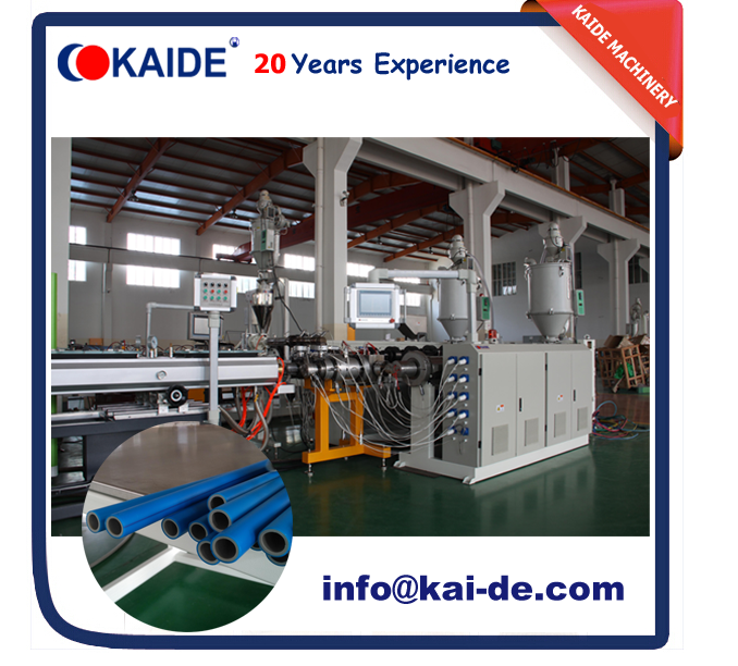 Dual Line Two Layers PPR Pipe Making Machine