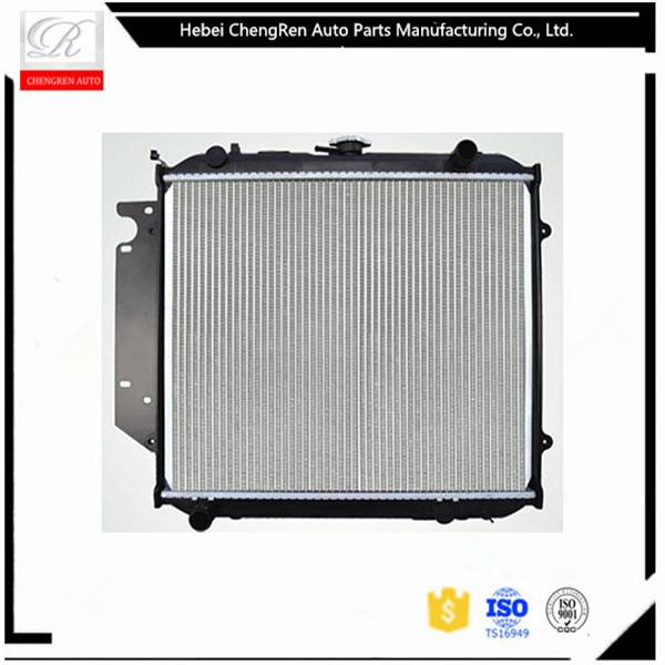 Auto radiator with aluminum core and plastic tank for Great Wall 08 sing