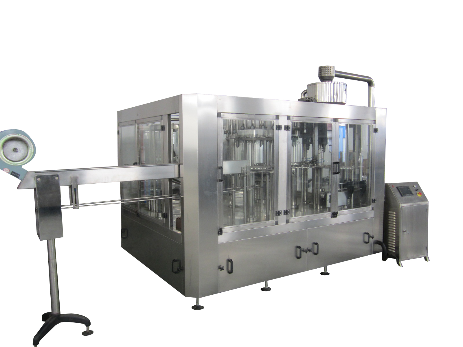 3-in-1 Monobloc Hot Filling Machine 15000B/H@500ml