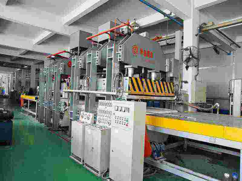 Hot Press machine for Aluminum Honeycomb Panel