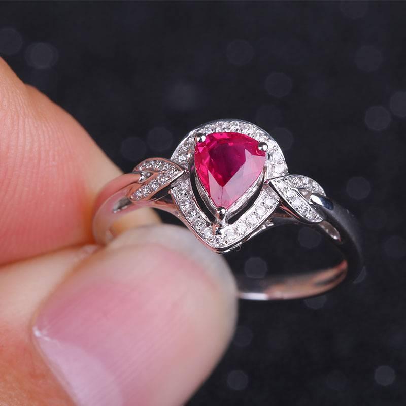 Robira Gemstone Jewelry 18K Gold & Ruby Gemstone Rings for Women