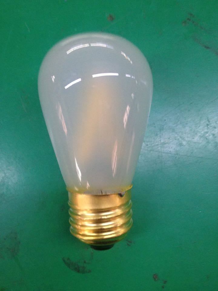 S14 led filament light bulbs lamp replacement frosting glass