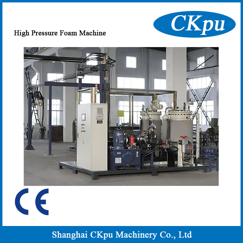 High pressure foam machine