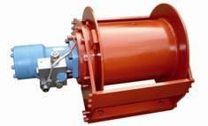 Crane Hydraulic Winch