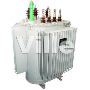 distribution transformer with three dimensional wound core