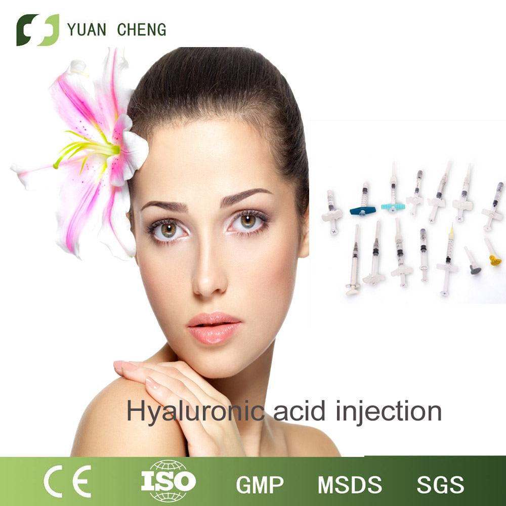 1ml Cosmetic Hyaluronic Acid Filler Dermal HA Gel For Removing Wrinkles
