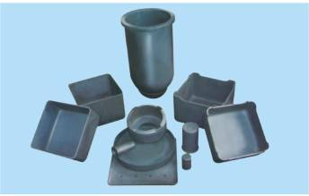 Reaction Sintered Silicon Carbide SiSiC Crucibles and Saggers