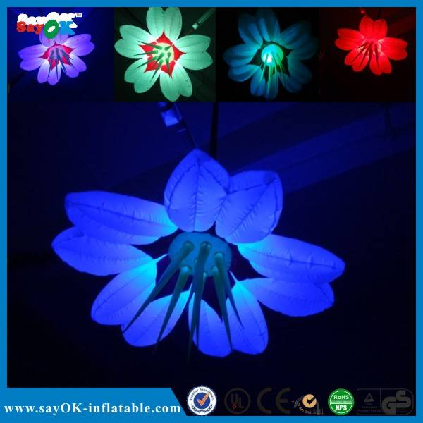 LED inflatable flower for sale