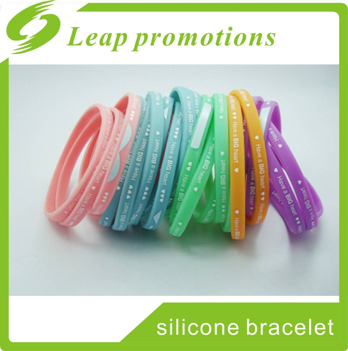 high quality kid's favourite latest thin silicone bracelet silicone rubber wristband