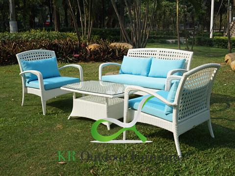 Rattan Sofa Outdoor Wicker Lounge Set