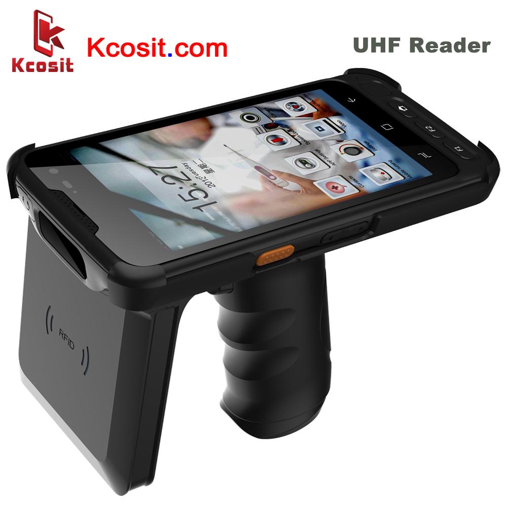 UHF Handheld RFID Reader Android Access Control Card Reader Handheld Data Mobile Terminal PDA