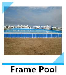 Guangzhou manufacturers offer low construction costs pool frames above ground swimming pool
