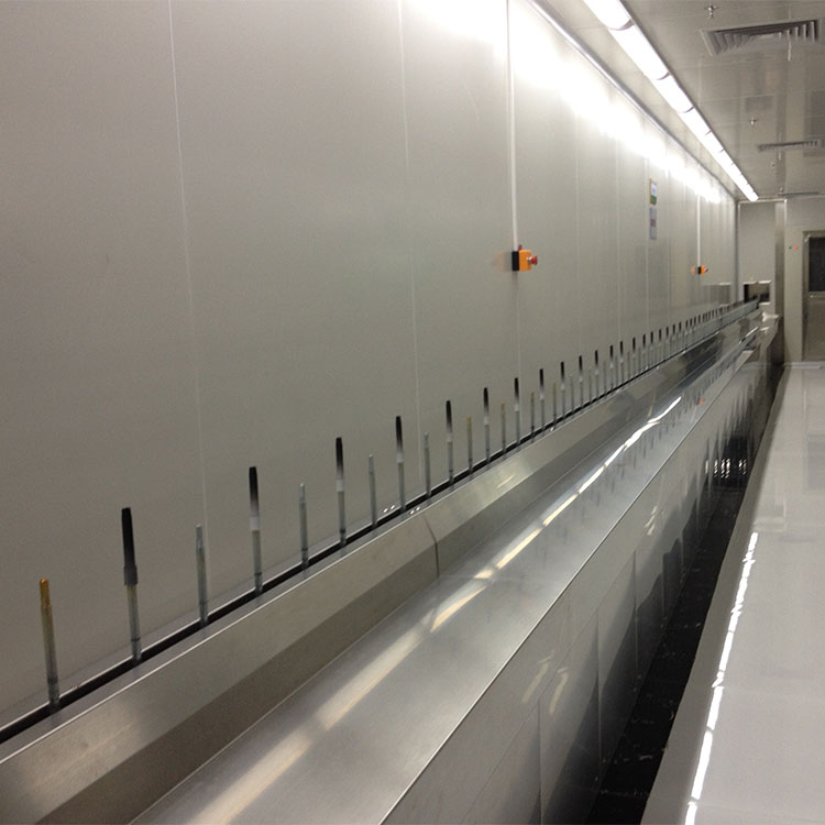 dustfree paint spraying line system