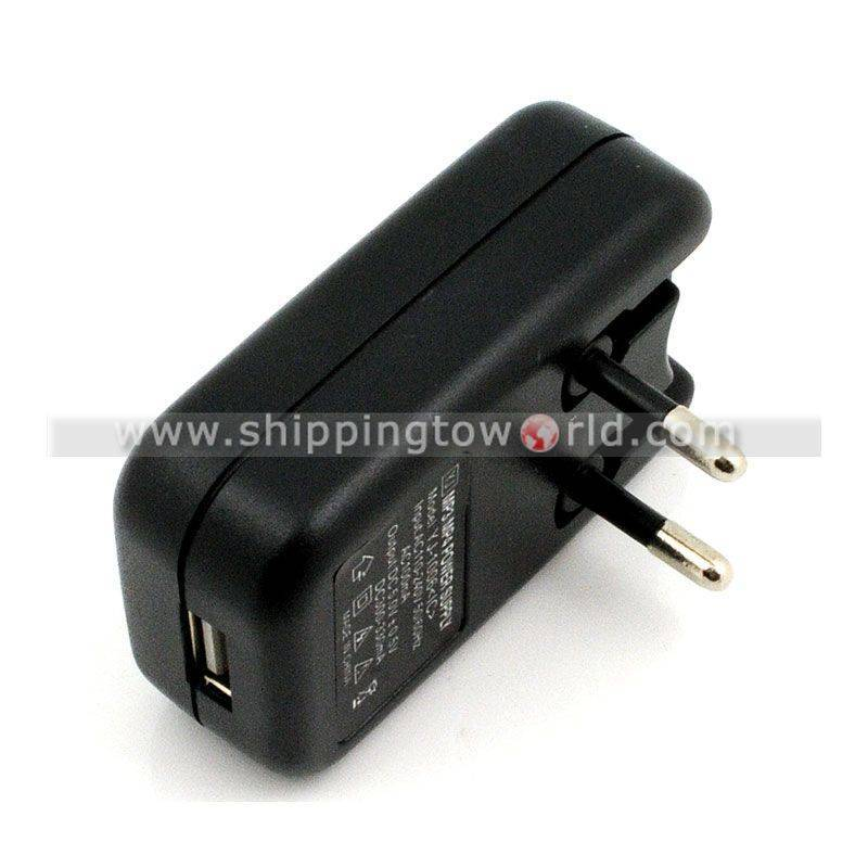USB Charger Universal AC Plugs With Red Light For Mp3 Mp4