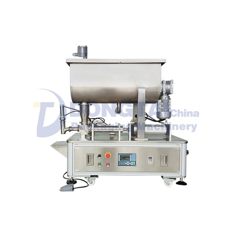 Semi-automatic granular sauce filling machine for caviar,shrimp paste Sauce Filling Machine