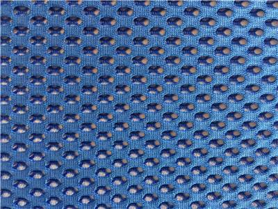 knitting tricot mesh fabric for sports shoes