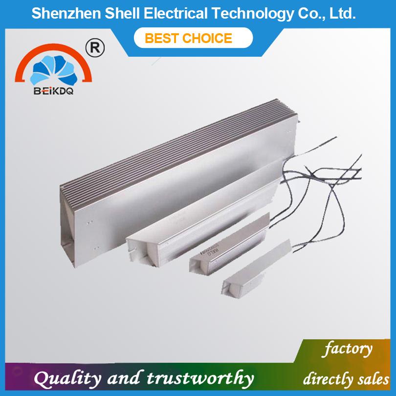 Customizable silver color 400W braking aluminum shell resistor