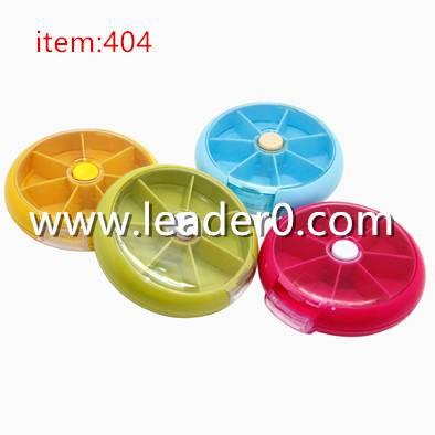 404 Travel 7 compartments Pill Box/Medicine Tablet/Case/Holder/Organizer