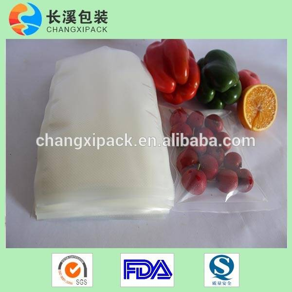 PA/PE co-extruded food vacuum bags