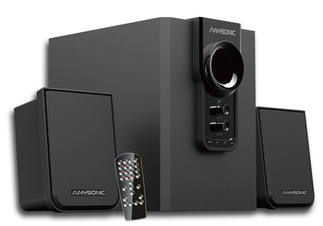 Best Powered Multimedia Stereo Active Speaker with Remote Control