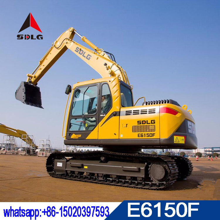 SDLG 15T hydraulic excavator LG6150E with best quality,2018 new model E6150F with low price
