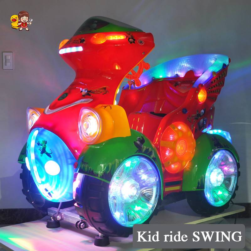 2015 Hot sell newest kiddie ride amusement swing machine coin operated cheap toy