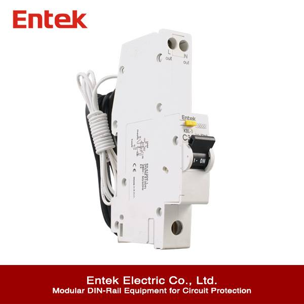 Residual Circuit Breaker with Overcorrect protection (RCBO) 1P+N CE 32A