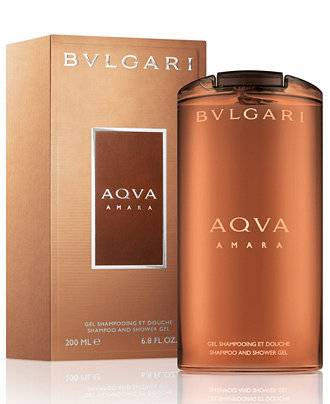 Bulgari Aqua Shampoo And Shower Gel 6.8 Oz