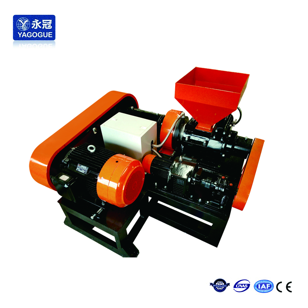 CE quality High output tire rubber powder pulverizing machinery