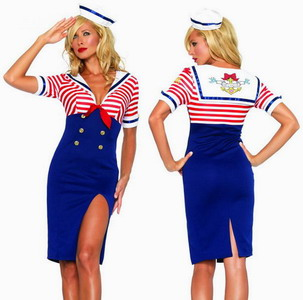 sexy underwear for female sex dress sex costume Sailor  Dress