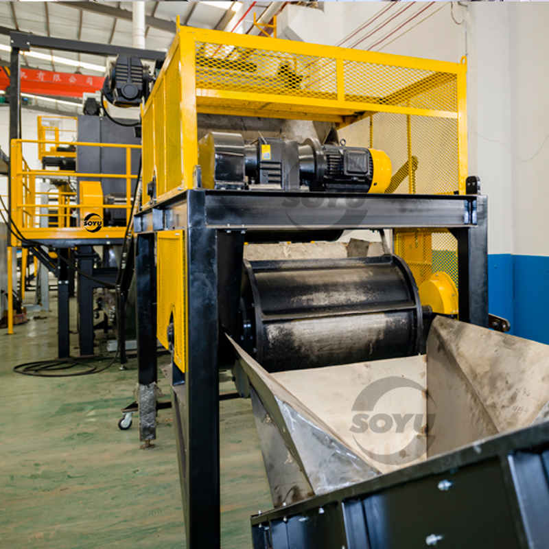 Oil filter recycling line/Drum recycling machine