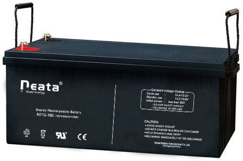 Solar battery 12V180Ah (ISO,CE,UL,ROHS,REACH)