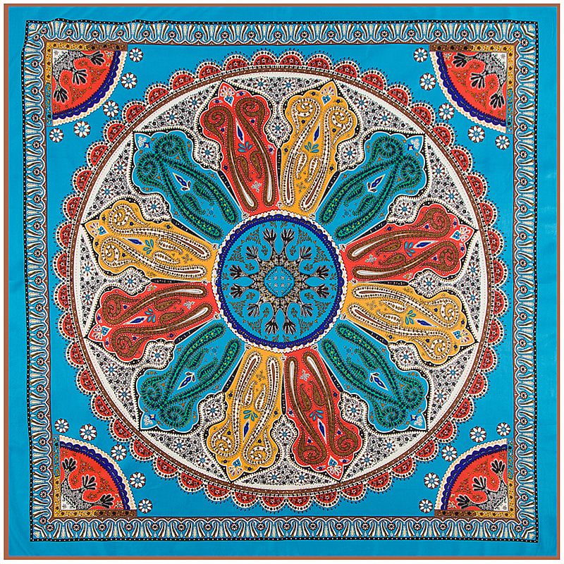 bohemian style silk scarf silk scarves