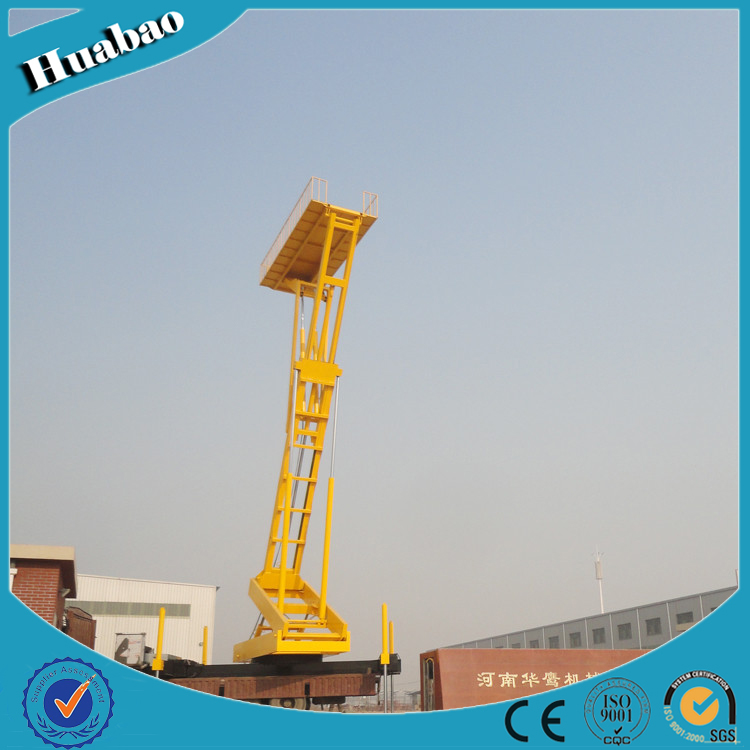 8T 12m high quality customized size hydraulic lifting platform for tile from factory