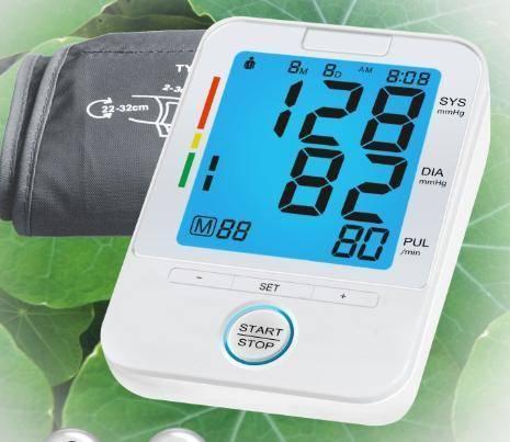 B.P.Monitor U80K backlight blood pressure monior