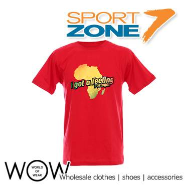 SPORT ZONE unisex T-shirts wholesale