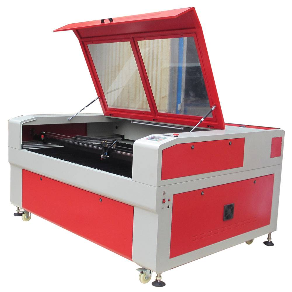 130w laser cutting machine with cw5000 water chiller