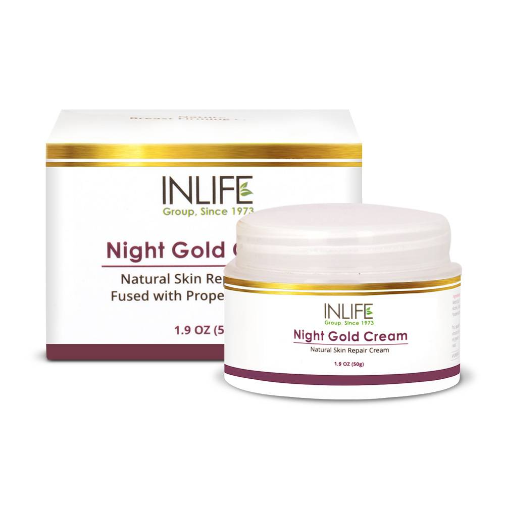 Night Gold Cream / Anti Wrinkle Cream GMP Certified