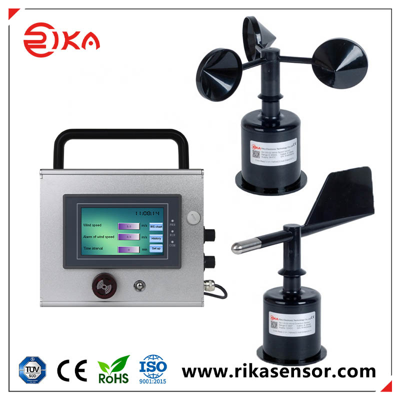 RK160-02 Wind Speed & Direction Station with data logger