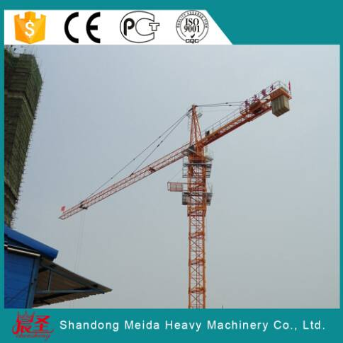 Widely Used Construction Hammerhead tower crane 10ton TC6515