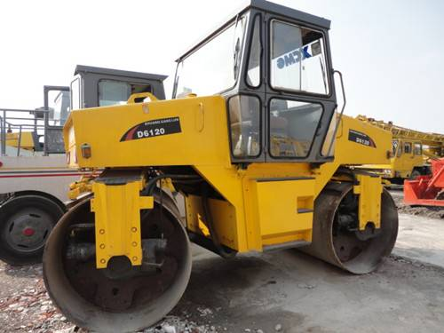 Used Road Roller(double Drum Vibratory Roller)
