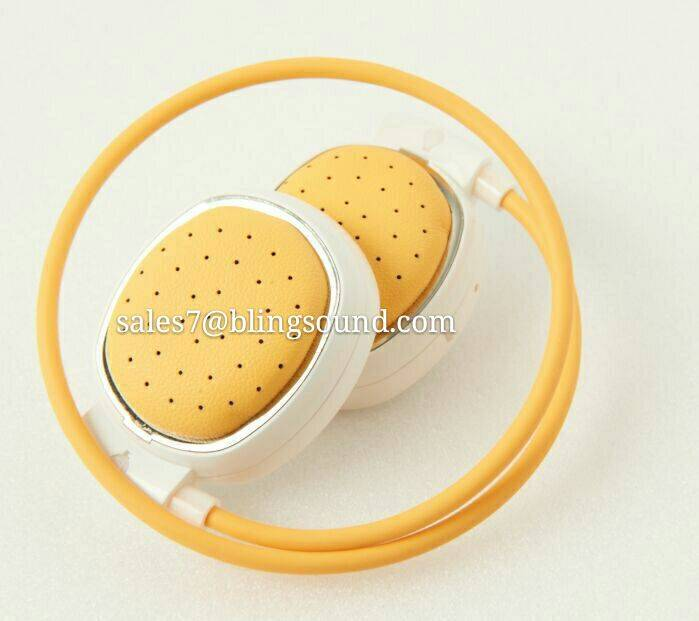 2016 new design Private mold bluetooth headphone