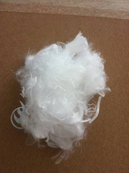 Polyester hollow conjugated fiber