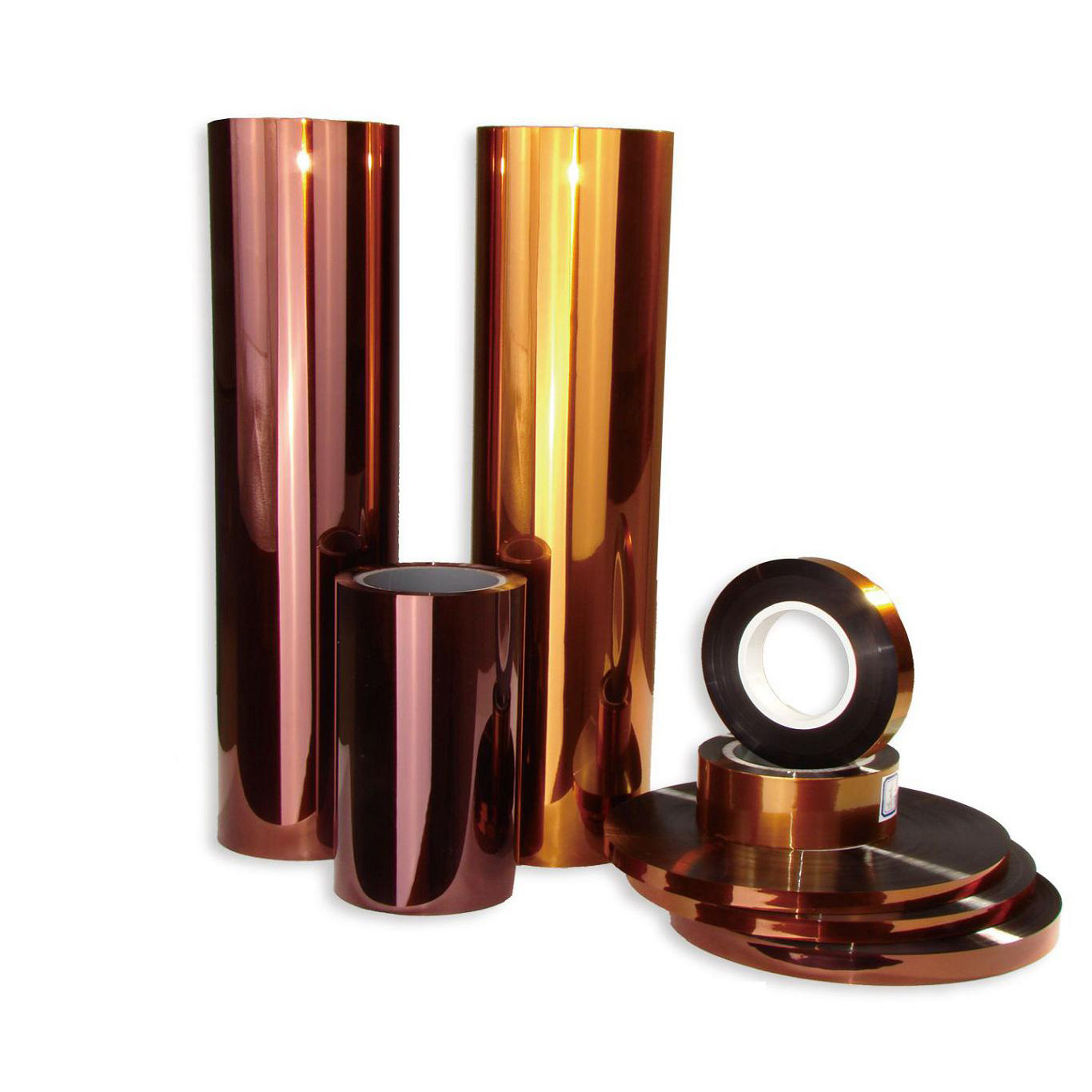 Biaxial-Oriented polyimide film for lamination