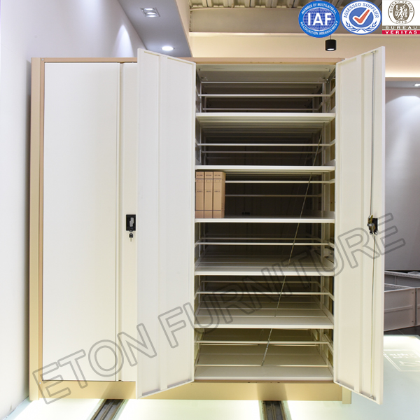 Customized School Library Full Steel Material Sliding Moving Compactor Cabinet